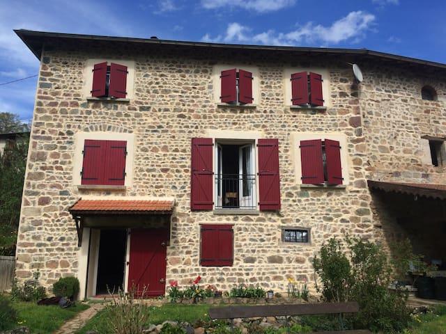 Superbe maison au ❤️ du beaujolais - Grandris  - Hus