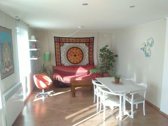 Luminosa, acogedora y con mucha paz - Soria - Huis