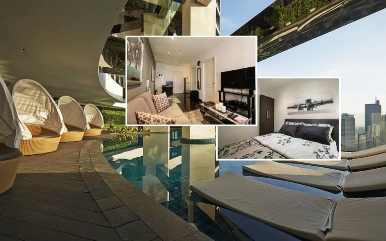 Cozy Gramercy Makati 1BR 59F Fully Furnished Condo - Makati - Apartament