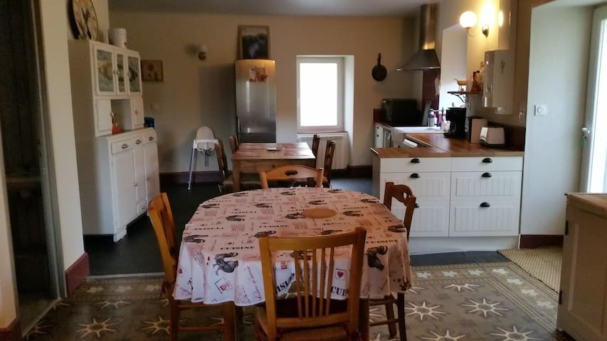 Gite de Tante Jeanne Ambiance cosi - Peaugres - Casa