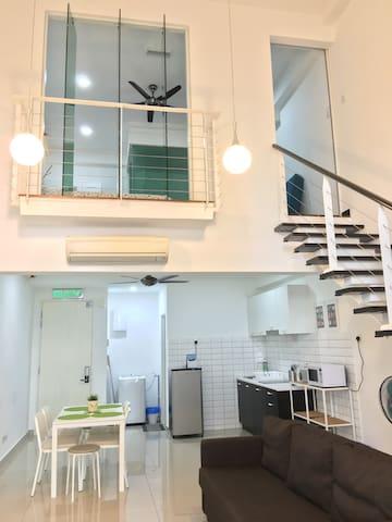 Scott Garden Apartment 6 Pax #1 - Kuala Lumpur - Lägenhet