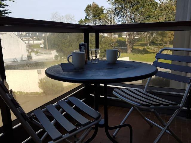 studio résidence calme proche bord mer et Thalasso - Quiberon - Lägenhet