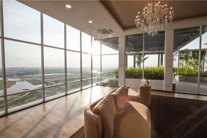 Tropez 景观公寓 - Johor Bahru - Lejlighed