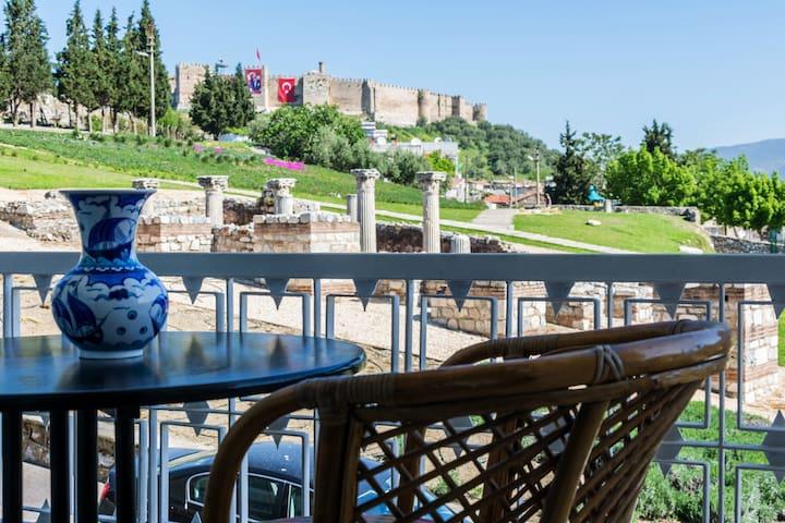Selcuk Ephesus Castle View Suites-1 - Selcuk
