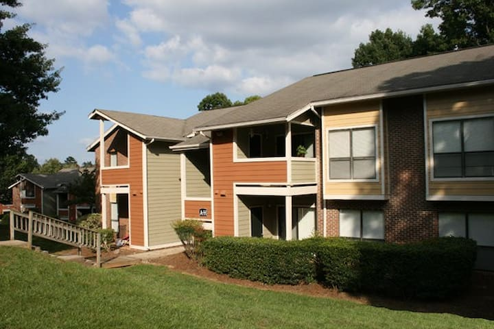 Quiet 1 bed apartment minutes from NCSU. - Raleigh - Huoneisto
