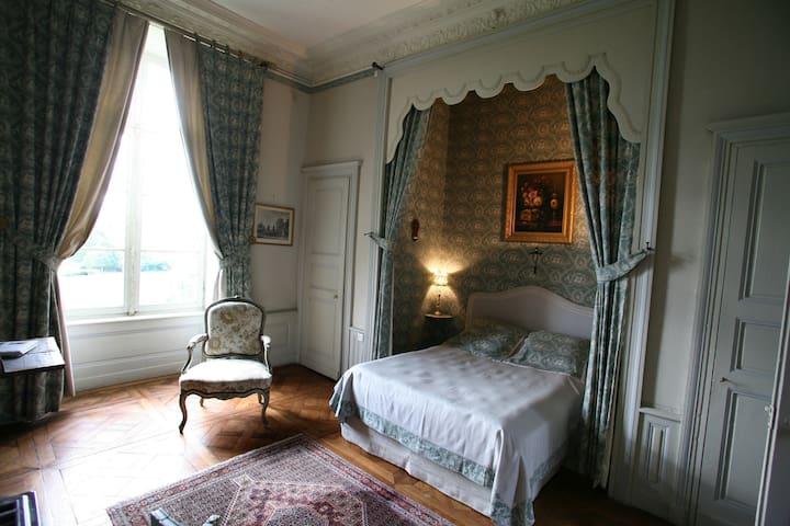 Chambre raffinées au château - LXVI - Sens-Beaujeu - Şato