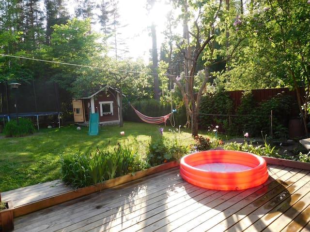 Rowhouse with garden - Kirkkonummi - Reihenhaus