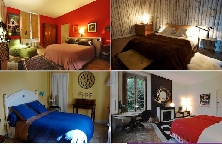 Flamingo Rooms,  4 chambres d'hôtes - Longny-au-Perche - Bed & Breakfast