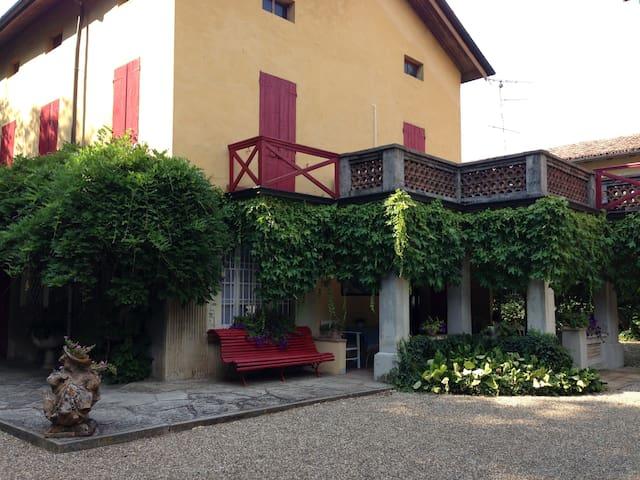 Villa con ampio giardino e piscina - Bibbiano - 別荘