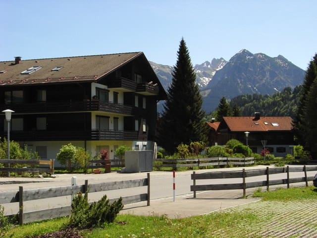 FEWO Bergrose in den AllgäuerBergen - Obermaiselstein - Apartment