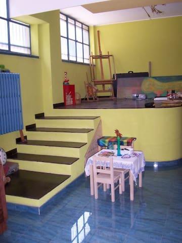 un loft di 100 mq curato e colorato - Cologno Monzese - Loft