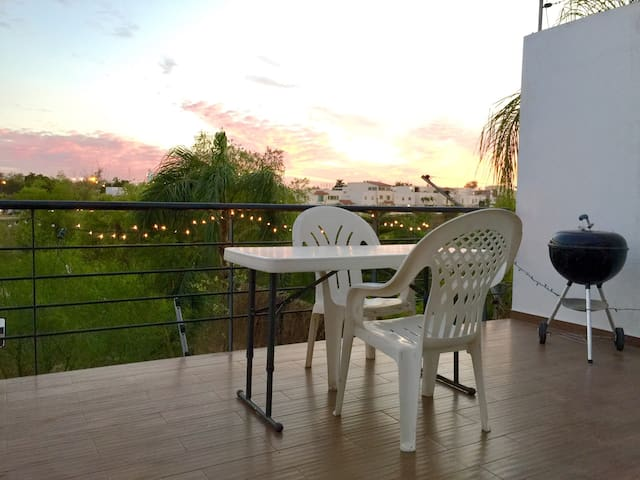 Apartment with Terrace and a Great River View - Culiacán Rosales - Daire