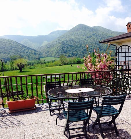 Confortable flat with awesome view - Roccabruna - Apartamento