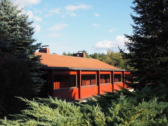 Drewniany Pawilon na leśnej polanie - Nowa Górka - Dům