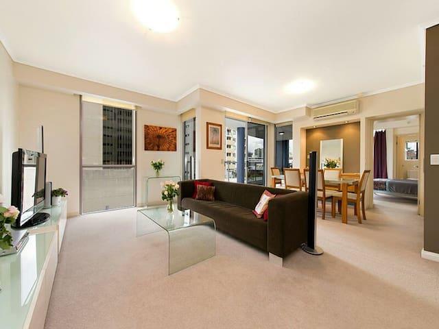 Stunning 2B in the heart of the CBD - Brisbane - Apartment