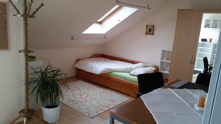 Ruhiges Zimmer mit Sternenblick - Alsdorf - Daire