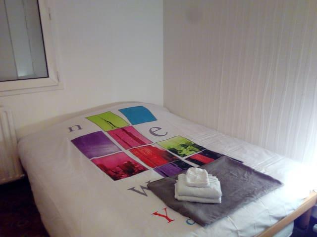 1 grande chambre 2 personnes grand appartement - Mulhouse - Departamento