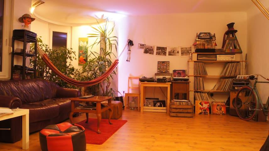 Bright room in big and beautiful apartment - Oldenburg