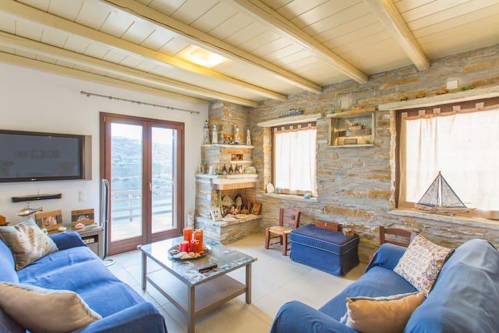 Confortable house with sea view - Kea Kithnos - Ev
