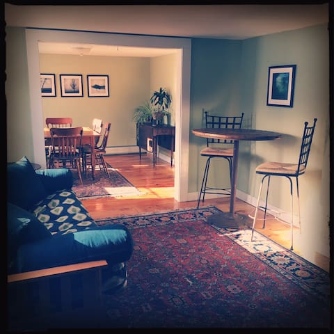 Private apartment on a farm. - Walpole - Daire