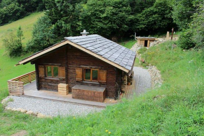 Idyllische Almhütte mit Sauna NPHT - Pirkachberg