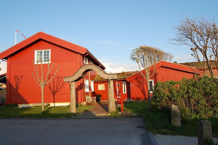 Midt i by og natur, 50 m. til fjord - Ringkøbing - Apartemen