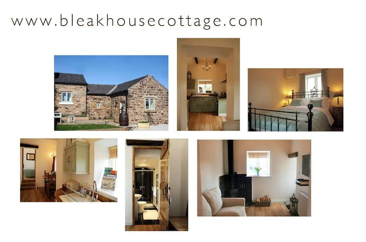 Bleak House Cottage, Longor, Peak District - Longnor - Huis