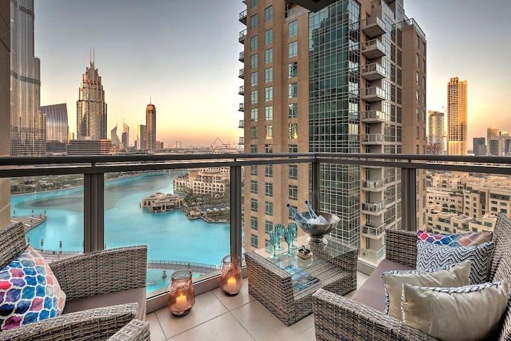 Extraordinary Burj Khalifa view- 2 BR Downtown - Dubai