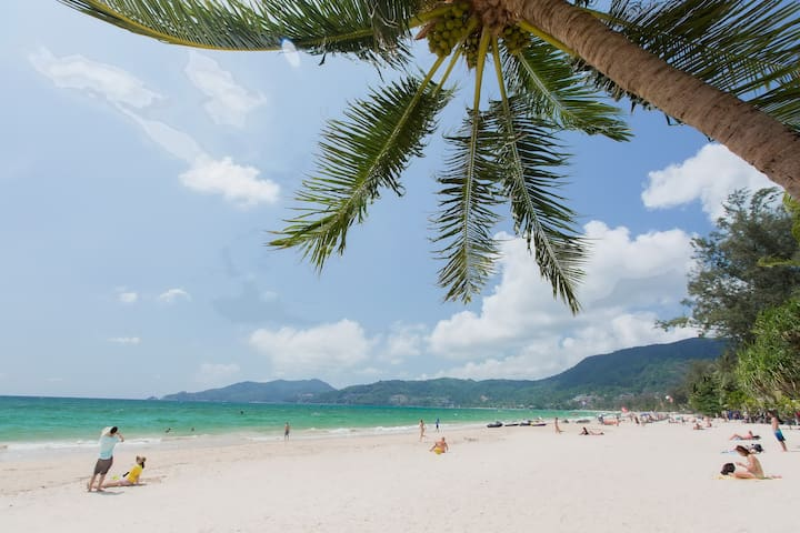 D deluxe for 2, balcony and seaview - Patong - Guesthouse