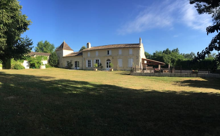 Family house 15min from St Emilion - Guillac - Huis
