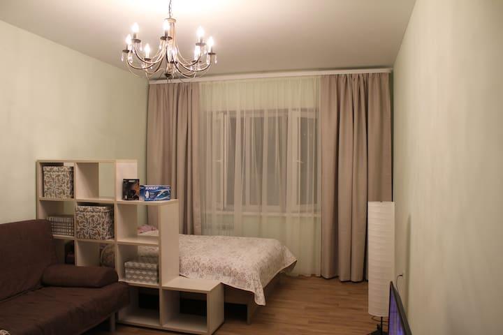 Новая однокомнатная квартира в Казани - Kazan
