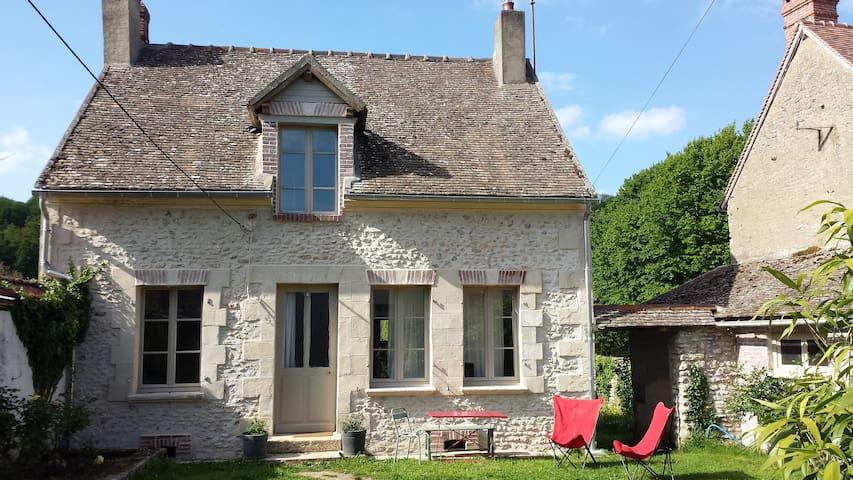 Vexin : Maison de village proche de Giverny - Boury-en-Vexin - Hus