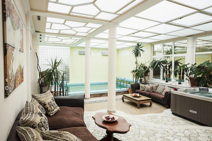 Luxury villa with swimming pool... - Budapeşte - Ev