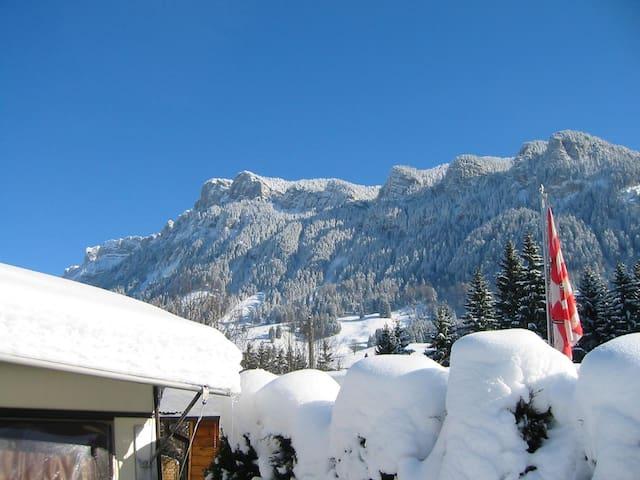 Ski holiday / Hiking Holiday on a campground - Flühli