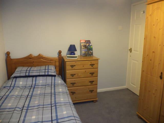 Cosy single room in lovely Morpeth inc breakfast - Morpeth - Casa