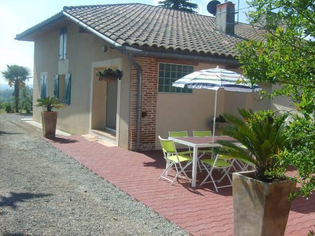 Le Refuge - Lamothe-Capdeville - Casa