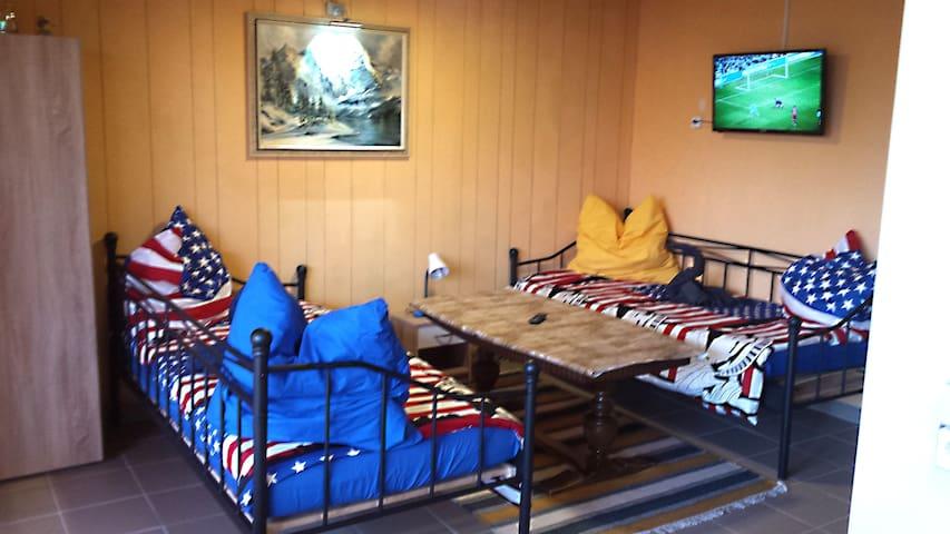 Gemütliches Zimmer für 2-3 Personen mit Wlan - Pirmasens - Leilighet