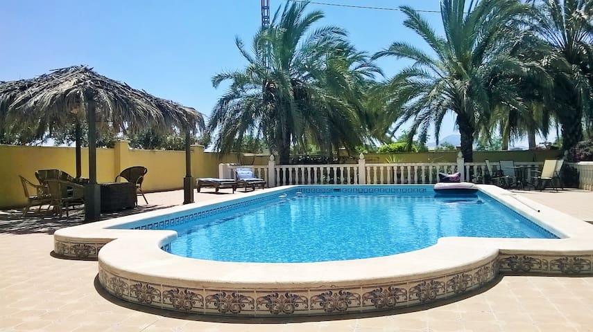 Garden studio with pool - Catral - Huis