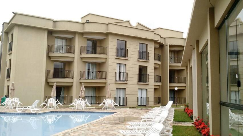 Flat Aldeia das Águas Parque Resort - Barra do Piraí - Departamento
