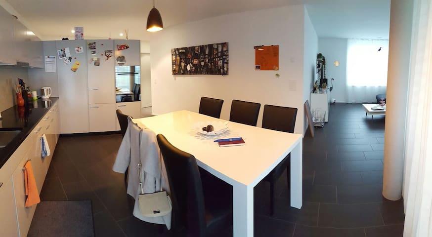 2.5 Zimmer Gartenwohnung zwischen Baden und Brugg - Gebenstorf - Daire