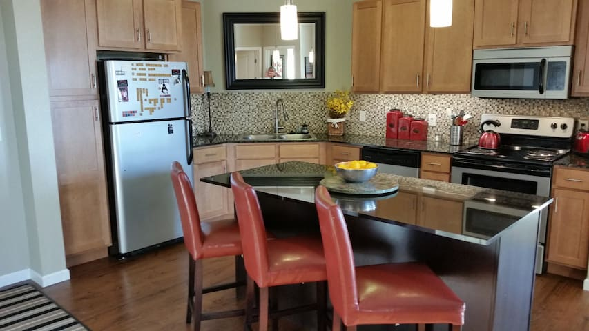 Great apartment for both city and airport access - Minneapolis - Apartamento