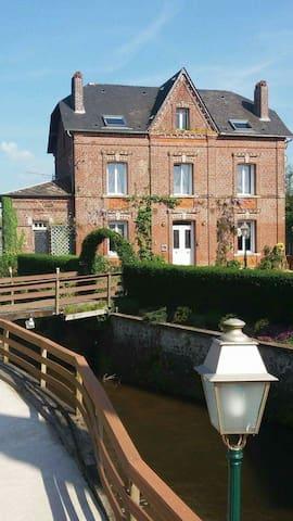 Le moulin de la Bethune - sleeps 10 - Neuville-Ferrières - Huis