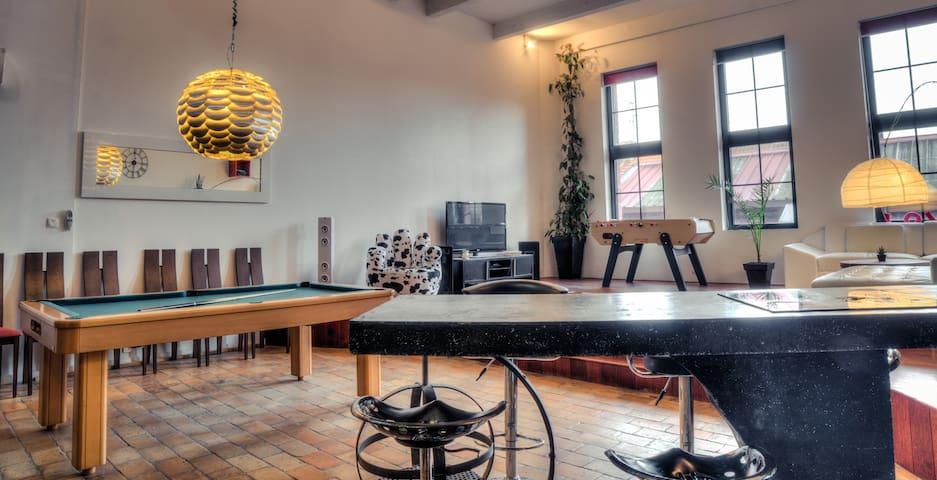 Beau loft de 143m², hyper centre, Mac Arthur à 5mi - Roubaix - Loft