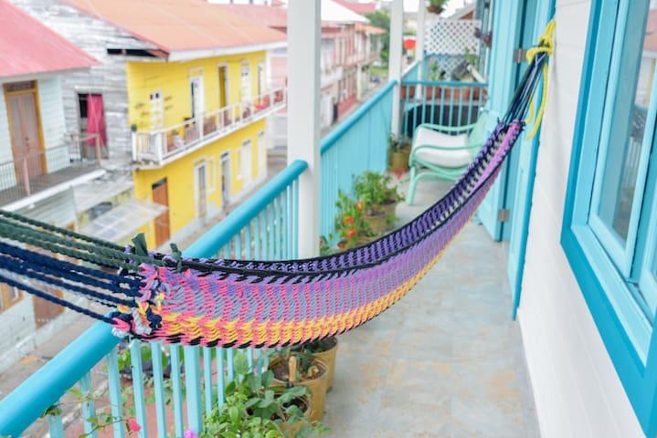 Bocas style in Casco Viejo - Panamá - Apartemen
