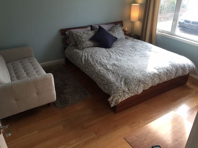 Bright, clean, comfortable room - Saratoga - Casa