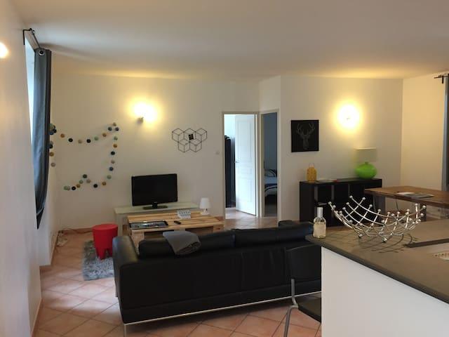Grand appartement avec piscine - Montélimar - Leilighet