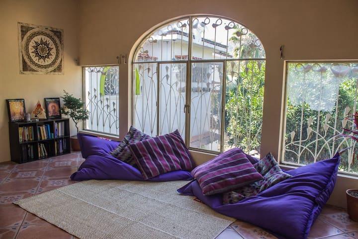 Sahridaya Refuge (Yoga Guesthouse) Dorm Bed x1 - Santiago Tepetlapa - Dormitorio compartido