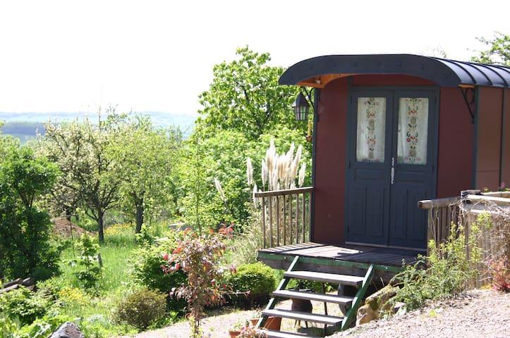 Wagon in Medieval Village - Mont-Saint-Jean - Kulübe