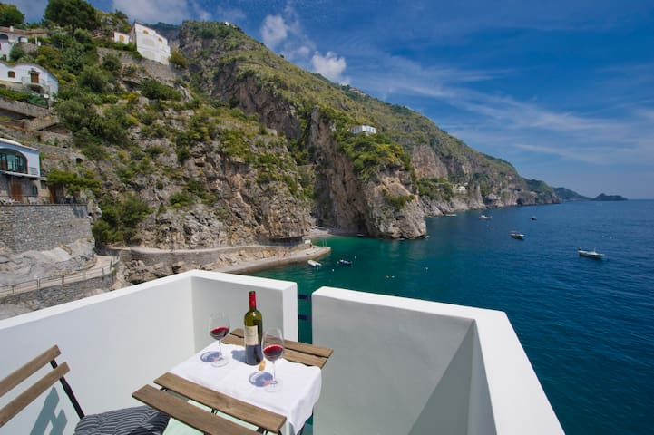 House on the sea- sleeps 4 - Praiano - Lägenhet