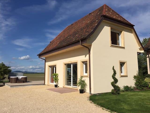 L'Atelier - Luxury, Hot Tub w/ view - Nambsheim - Huis